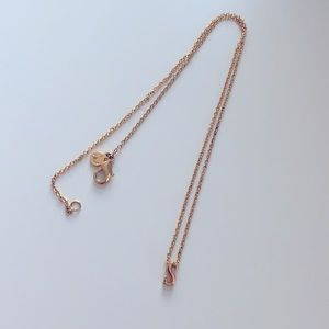 "Gorjana Initial ""S"" Earring & Necklace"
